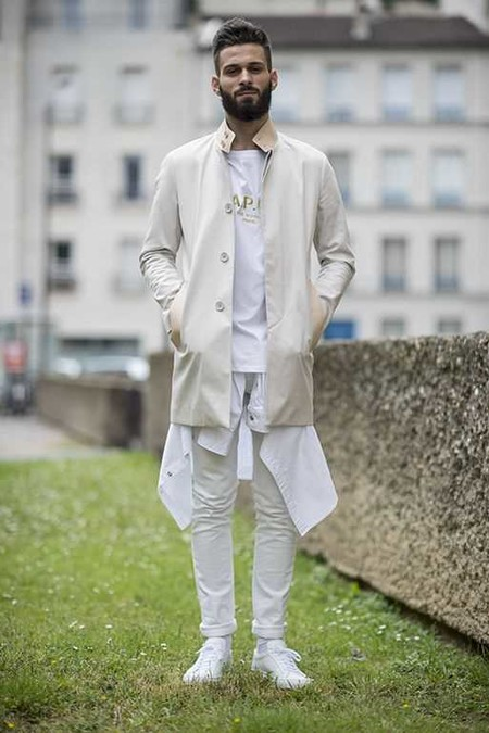 El Mejor Street Style De La Semana Adopta El Blanco Para Recibir La Primavera 04