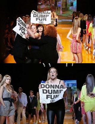 PETA contra Donna Karan