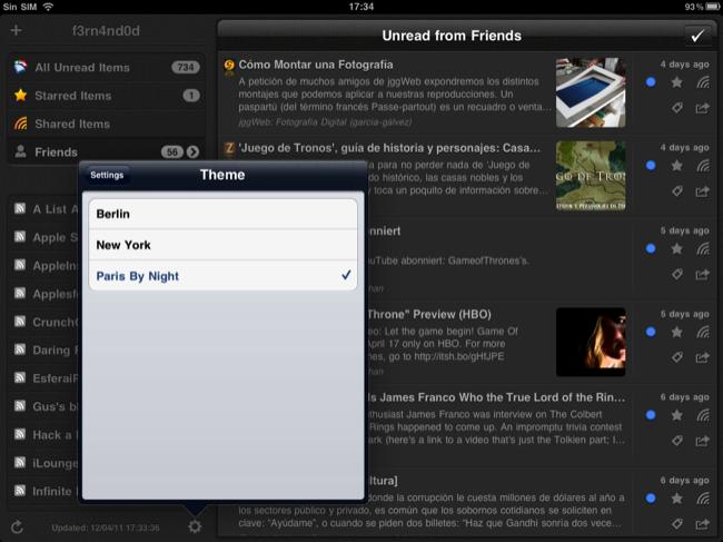 Foto de Lectores RSS para el iPad (14/20)