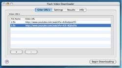 Flash Video Downloader: Descarga a la vez varios vídeos Flash