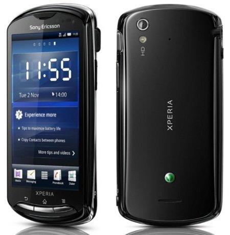 Sony Ericsson Xperia Neo en negro