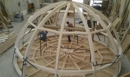 El Xiglú en construcción