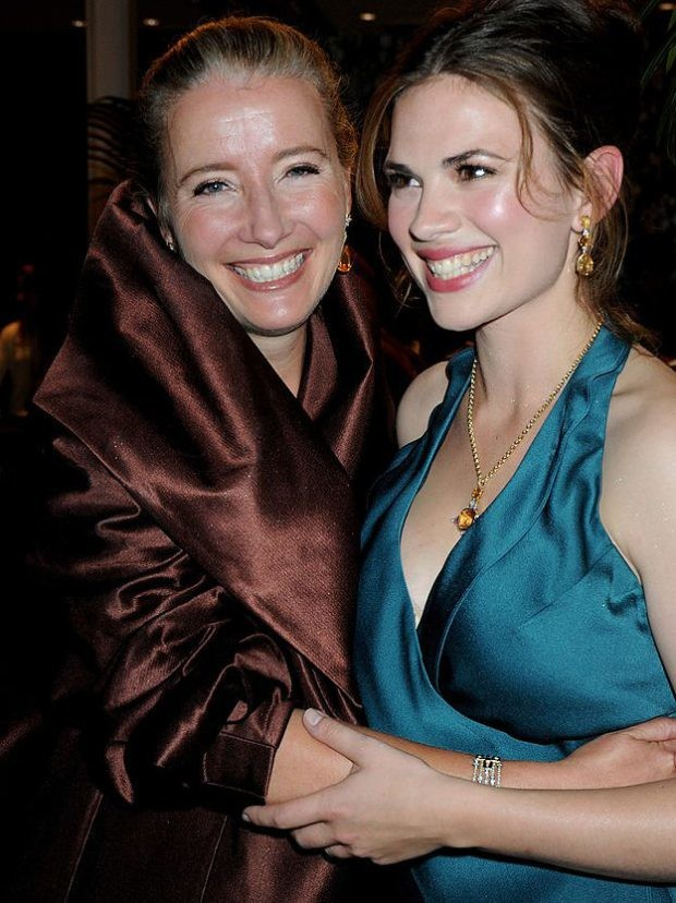 Emma Thompson y Hayley Atwell en la premiere de Brideshead Revisited