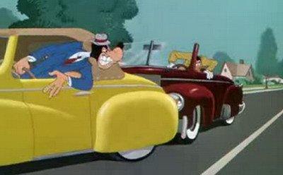 La violencia al volante contada por Disney