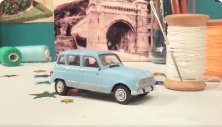 El genial homenaje al Renault 4L en stop-motion que todo amante de los clásicos debería ver