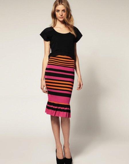Y el clon más conseguido de la falda de Prada es de... ¡Asos!