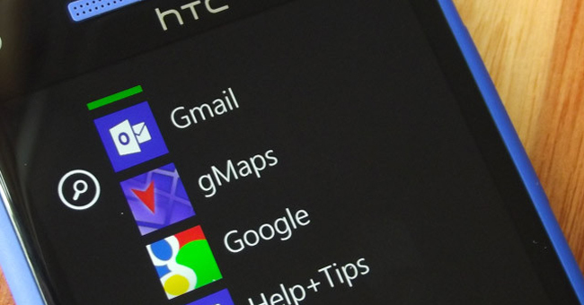 Google en Windows Phone