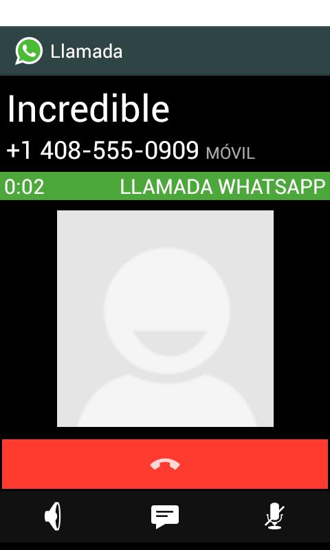 Llamadas En Whatsapp 3 4