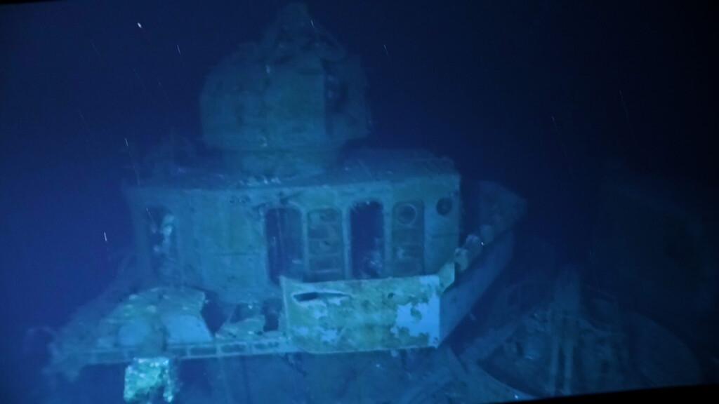 El naufragio más profundo descubierto hasta la fecha es un destructor de la II Guerra Mundial a 6.500 metros bajo el agua