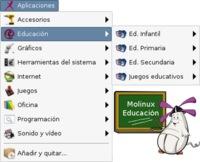 Nueva versión de Molinux educativa