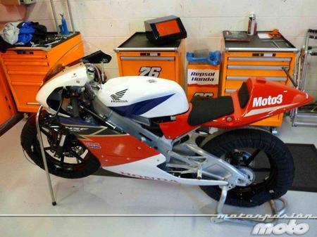 Honda NSF250R, en diciembre disponible