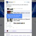Facebook sigue experimentando y añade la integración de vídeos en los comentarios