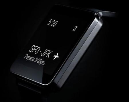 LG G Watch es otro reloj Android Wear, y llegará en el segundo trimestre