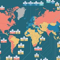 Las escuelas y universidades más antiguas de cada país del mundo, en un exhaustivo mapa