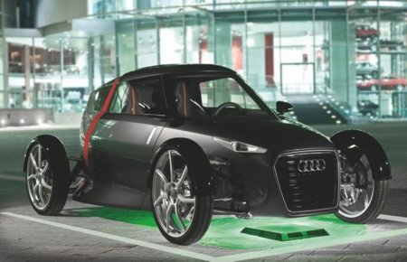 Audi Urban Concept wireless charging