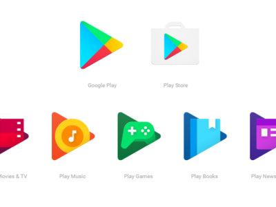 Google Play renueva sus iconos, descubre el nuevo aspecto de sus aplicaciones