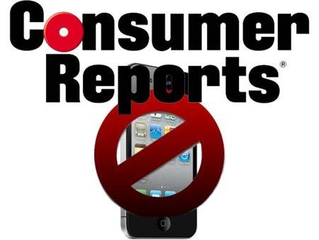 Consumer Reports: «es un problema de hardware, no podemos recomendar el iPhone 4»