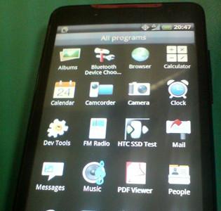 HTC Supersonic con conectividad WiMax, se deja ver por primera vez