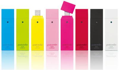 Poketo, reproductor MP3 de colores