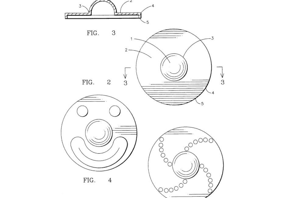 Fidget Spinner Patente