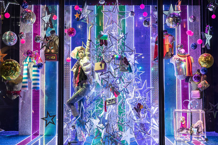 Harvey Nichols Christmas Windows 2017 10