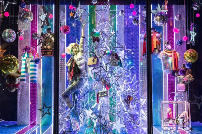 Harvey Nichols Christmas Windows 2017 10