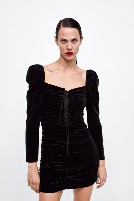 Vestido Zara Fiesta Lbd 10