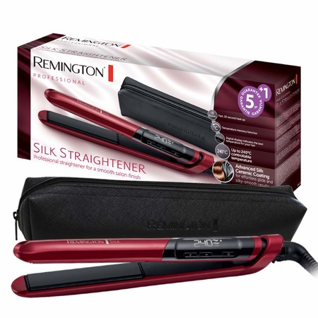 Oferta del día en la plancha para el pelo Remington Silk S9600: hasta medianoche cuesta 29,99 euros en Amazon
