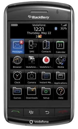 BlackBerry Storm, el terminal táctil de RIM