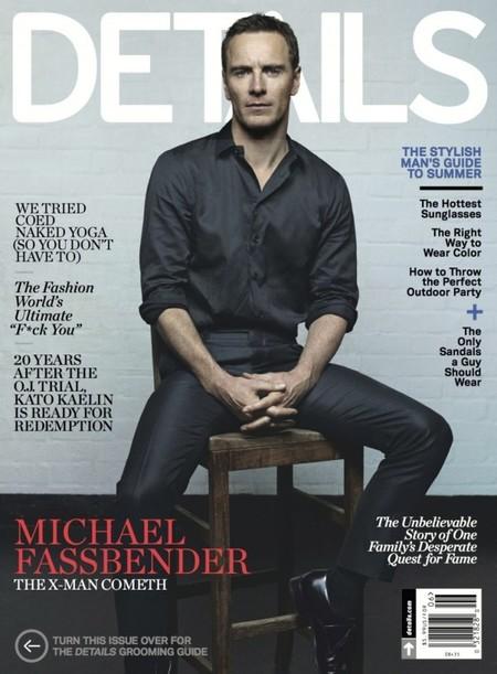 Michael Fassbender y James McAvoy por partida doble en la revista Details ¡Toma!