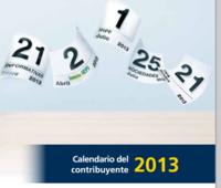 Calendario fiscal enero 2013