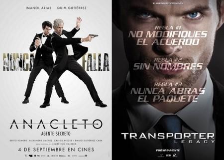 Estrenos de cine | 4 de septiembre | Anacleto vuelve a casa de Transporter
