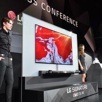 LG presenta su nueva línea de televisores Signature OLED TV W