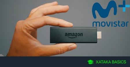 Cómo ver Movistar+ con Fire TV Stick en tu televisor
