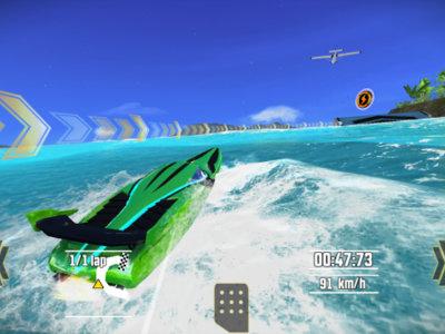 Driver Speedboat Paradise: agua y velocidad con un excelente acabado gráfico