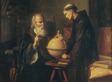 Galileo Demonstrating The New Astronomical Theories At The University Of Padua Google Art Project E1446671809433