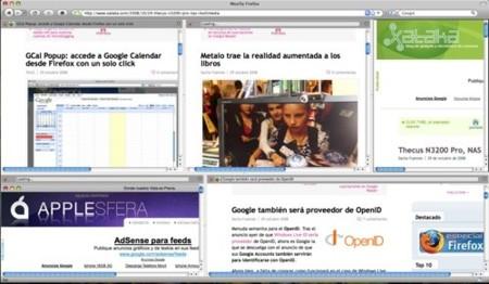 Split Browser: divide tu ventana de Firefox en varias