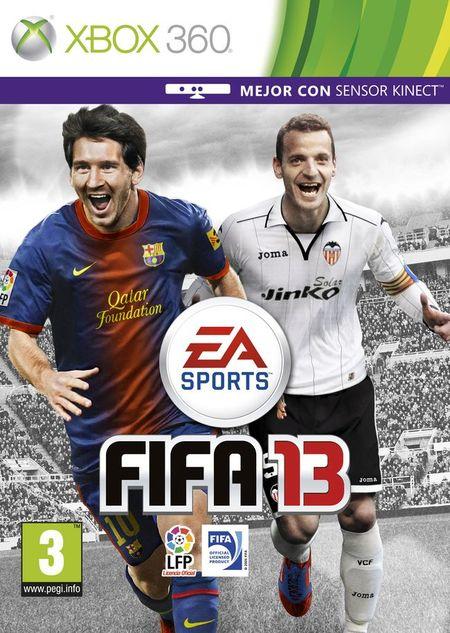 Portada FIFA 13 (Xbox 360)