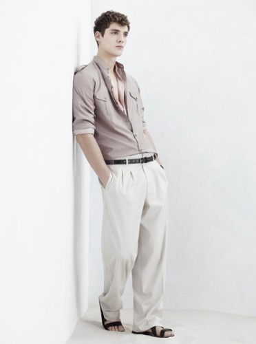 Zara, colección Primavera-Verano 2009, camisa