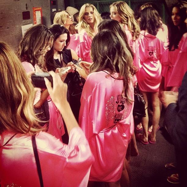 Foto de El backstage de las modelos de Victoria's Secret (9/14)