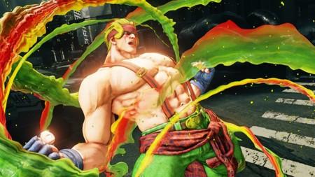 Alex está listo para pulverizar a sus rivales  y con él llegan montones de novedades a Street Fighter V