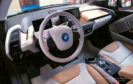 BMW i3 Madrid interior 20