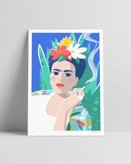 Frida Kahlo RetratoFrida Kahlo - Retrato