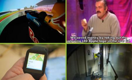 Algo de manzana con una ración de USB, aderezada con Fórmula 1: los domingos son para leer tecnología