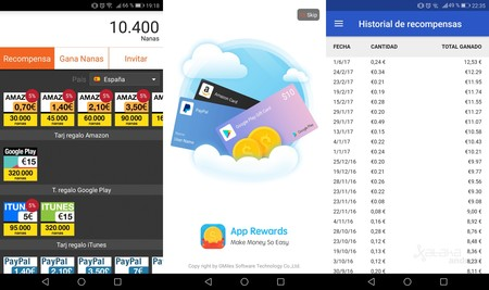 Recompensa Aplicaciones Android