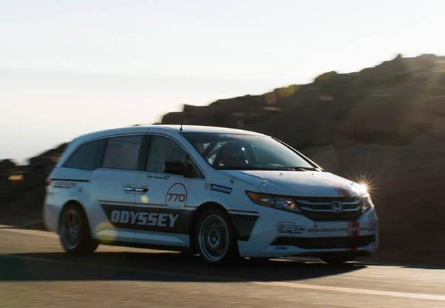 Pikes Peak 2013: Honda correrá con una Odyssey de 500 caballos
