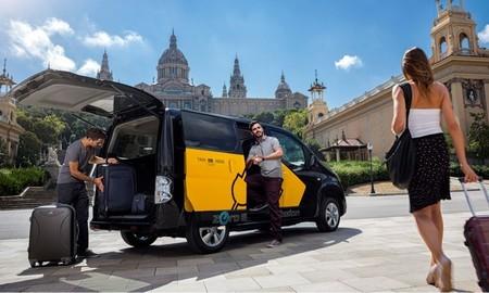 Nissan e-NV200 taxi eléctrico Barcelona 05