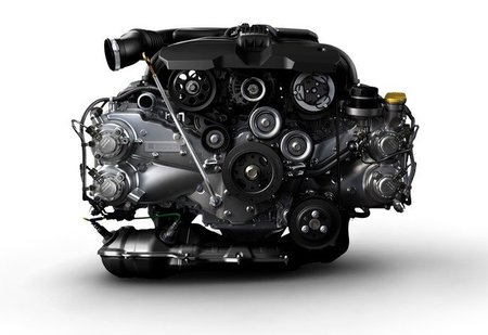 Motor actual Subaru