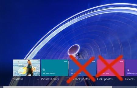 Microsoft elimina la integración con Flickr y Facebook de Fotos en Windows 8.1