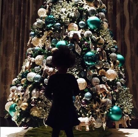 Beyonce Blue Ivy Navidad